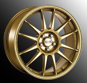 Диски OZ Racing SUPERLEGGERA Gold
